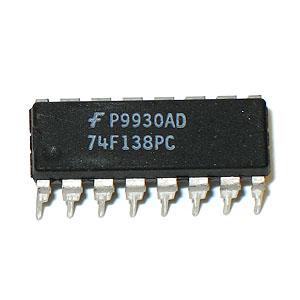 15 Peças Circuito Integrado 74F138 DIP