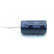 CAPACITOR ELETROLITICO 1000UF 100V RADIAL 105ºC 20X36MM CD110X