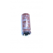 CAPACITOR ELETROLITICO 1000UF 16V  RADIAL 105º C 8X18MM EKZG160EC3102MH20D CHEMICON