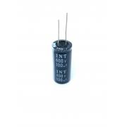 CAPACITOR ELETROLITICO 100UF 400V RADIAL 105ºC 19X41MM INT
