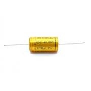 CAPACITOR ELETROLITICO 2200UF 25V AXIAL 105ºC 21X39MM RDE