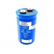 CAPACITOR ELETROLITICO GIGA 2200UF 350V 64X106MM U36L NIPPON CHEMI-CON