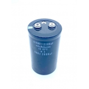 CAPACITOR ELETROLITICO GIGA 2600UF 580V 77X132MM NICHICON (USADO)