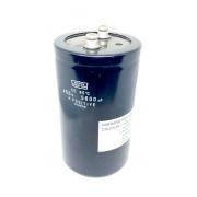 CAPACITOR ELETROLITICO GIGA 5600UF 450V 77X131MM NIPPON CHEMI-CON (SEMI-NOVO)