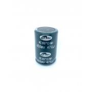 CAPACITOR ELETROLITICO SNAP-IN 470UF 450V 450WV RADIAL 35X51MM SAMWHA