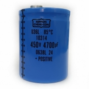 Capacitor Giga Nippon Chemicon 4700UF X 450V U36L