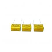 CAPACITOR SUPRESSOR 0,1UF 500VAC 1000VDC PME261JC6100KR30 KEMET (NOVO CAPA RACHADA)