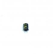 KIT COM 100 PEÇAS - CAPACITOR ELETROLITICO 100UF 16V RADIAL 105ºC 6X8MM OST