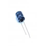 KIT COM 10 PEÇAS - CAPACITOR ELETROLITICO 1000UF 6,3V RADIAL 105º 11X13MM OMNI
