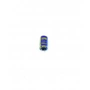 KIT COM 10 PEÇAS - CAPACITOR ELETROLITICO 1000UF 6,3V RADIAL 105º 8X14MM RLX1086R3M08145C OST