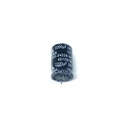 KIT COM 10 PEÇAS - CAPACITOR ELETROLITICO 2200UF 16V RADIAL 105ºC 16X26MM B41856-S4228-M1 EPCOS (TERMINAL CURTO)
