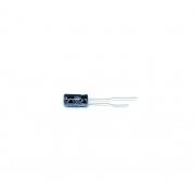 KIT COM 20 PEÇAS - CAPACITOR ELETROLITICO 100UF 35V RADIAL 105ºC 6X12MM GR1V1010611MB ALLTECH