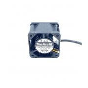 VENTILADOR 40X40X28MM 12VDC 0,35A 03FIOS 109P0412J3D013 SANACE40 SANYO DENKI (USADO)