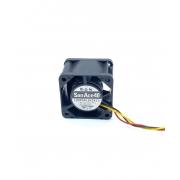 VENTILADOR 40X40X28MM 12VDC 0,55A 03FIOS 109P0412K3413 SANACE40 SANYO DENKI (USADO)