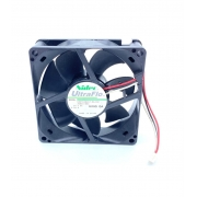 VENTILADOR FAN COOLER 80X80X25MM 24VDC U80T24MUA7-53J241 ULTRAFLO NIDEC (U80T24MUA753J241)