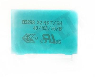 50 peças Capacitor supressor x2 Epcos 10K x 305V B3293 X2 MKT/SH/40/105/56/B