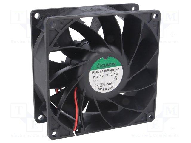 5 Peças Fan Cooler Ventilador 90X90X38MM 12V 8.5W SUNON PMD1209PMB-A