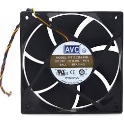 7 Peças Fan Cooler Ventilador 50x50x28mm 12V 1.65A AVC DV05028B12U