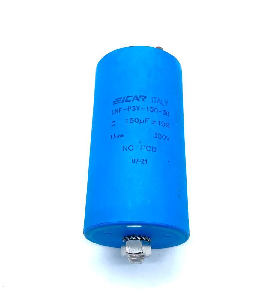 CAPACITOR 150UF 300V 76X142MM LNF-P3Y-150-30 ICAR
