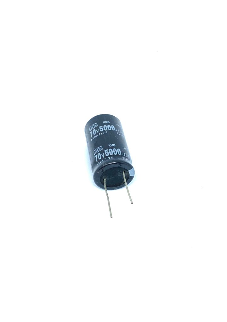 CAPACITOR ELETROLITICO 5000UF 70V RADIAL 105ºC 25X45MM NIPPON CHEMI-CON
