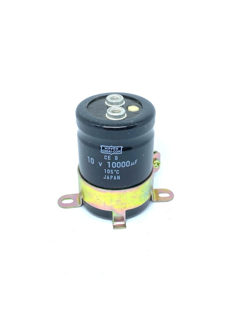 CAPACITOR ELETROLITICO GIGA 10000UF 10V 105ºC 36X52MM NIPPON CHEMI-CON