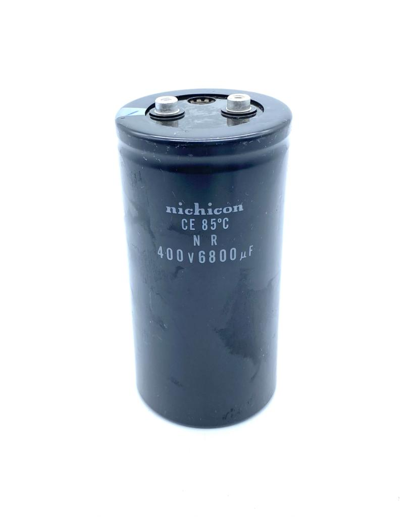 CAPACITOR ELETROLITICO GIGA 6800UF 400V 77X152MM NICHICON