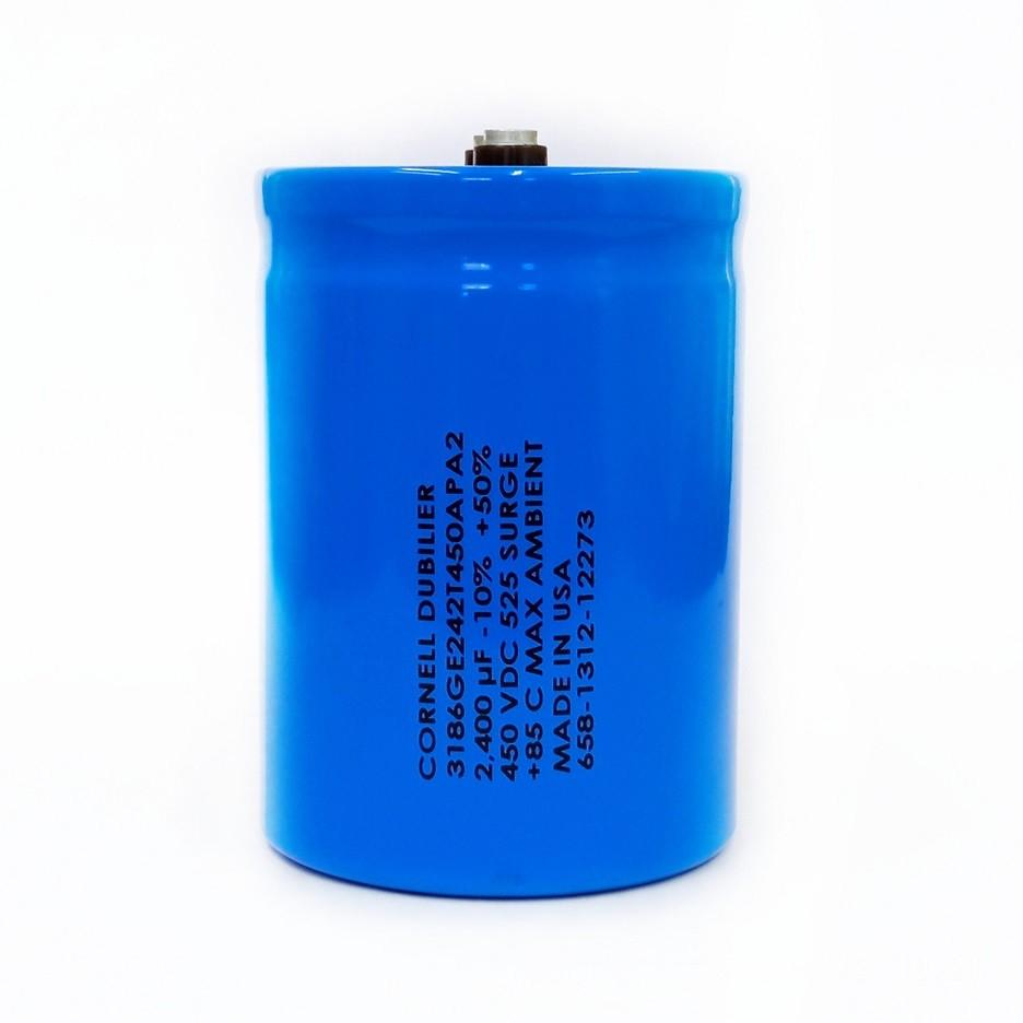 Capacitor Giga Cornell Dubilier 2400UF X 525V 85ºC 3186GE242T450APA2