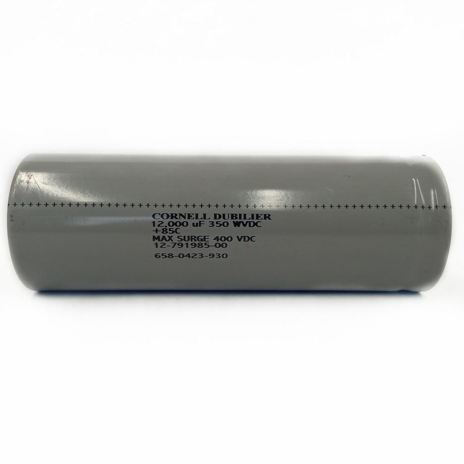 Capacitor Giga Cornell Dubilier USA 12000UF X 350V 85ºC 12-791985-00