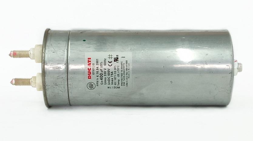 Capacitor Giga Ducati 400UF X 600V DC 4.16.84.3981
