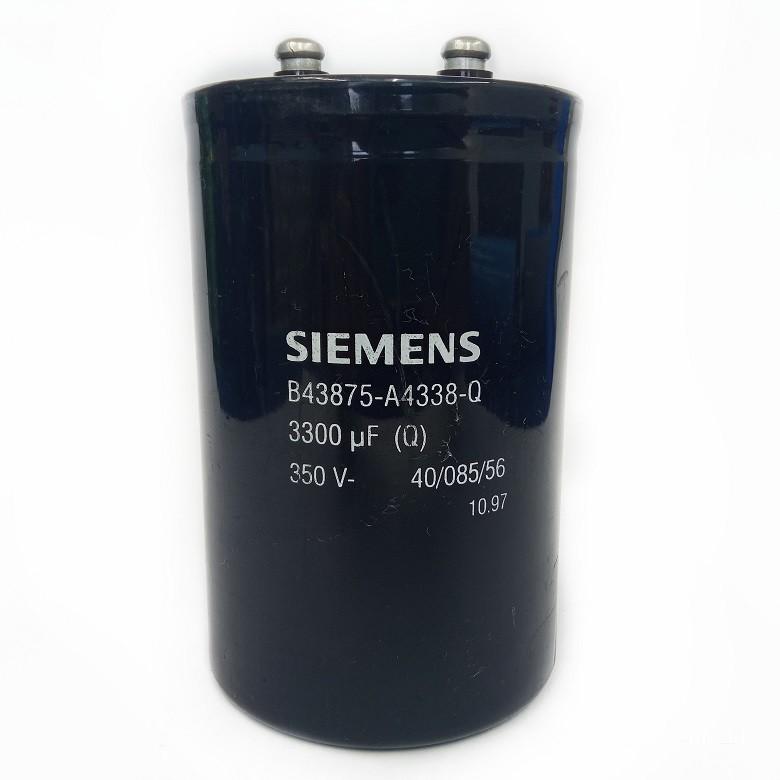 Capacitor Giga Epcos 3300UF X 350V (A14xL7cm) B43875-A4338-Q