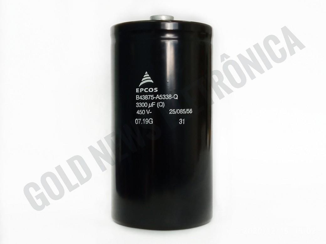 Capacitor Giga EPCOS 3300UF X 450V B43875-A5338Q