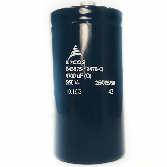 Capacitor Giga Epcos 4700UF X 250V B43875-F2478-Q