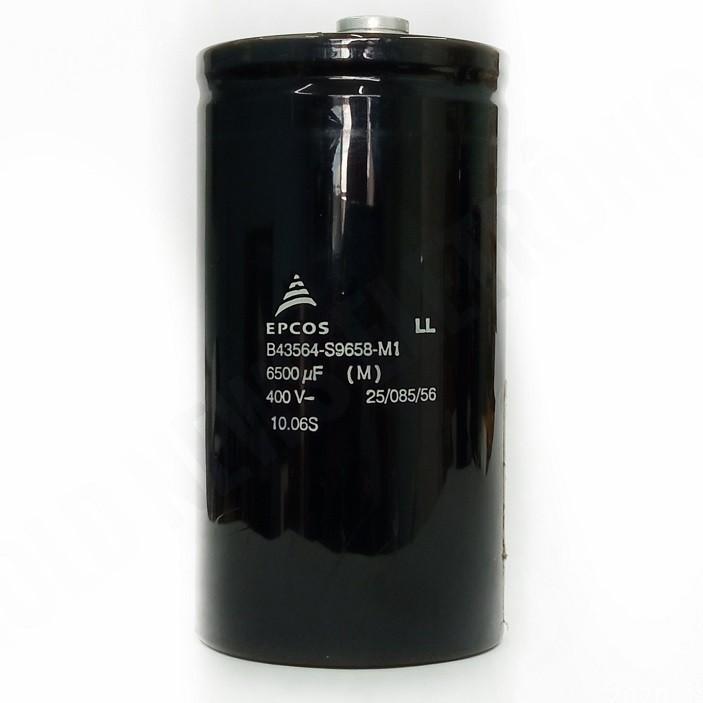 Capacitor Giga Epcos 6500UF X 400v B43564-S9658-M1