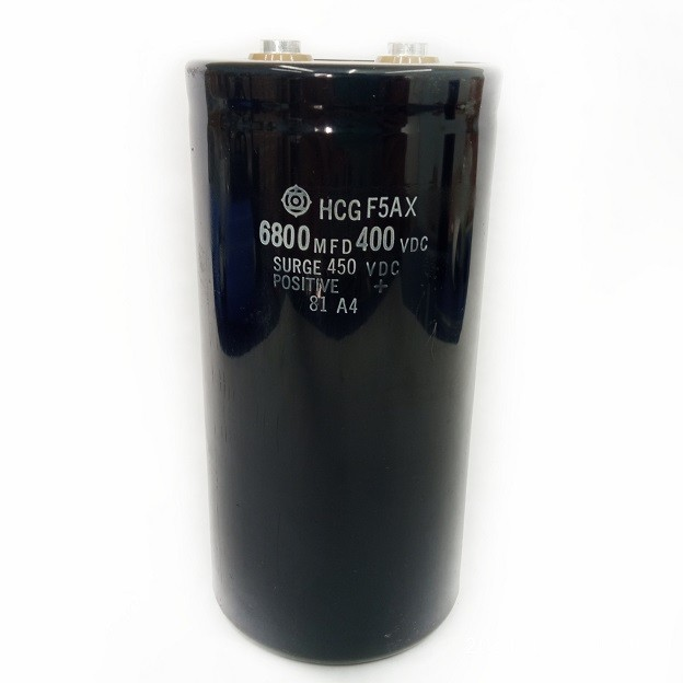 Capacitor Giga HCG F5AX 6800UF X 400V/450V