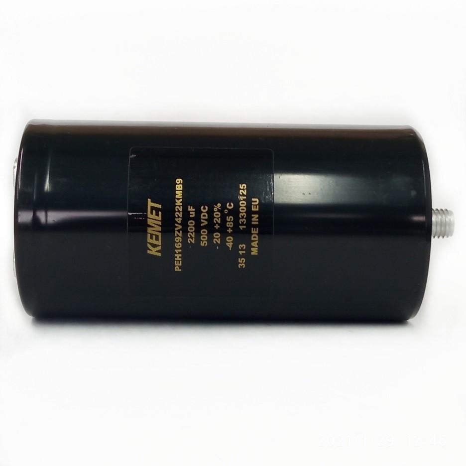 Capacitor Giga Kemet 2200UF X 500V PEH169ZV422KMB9