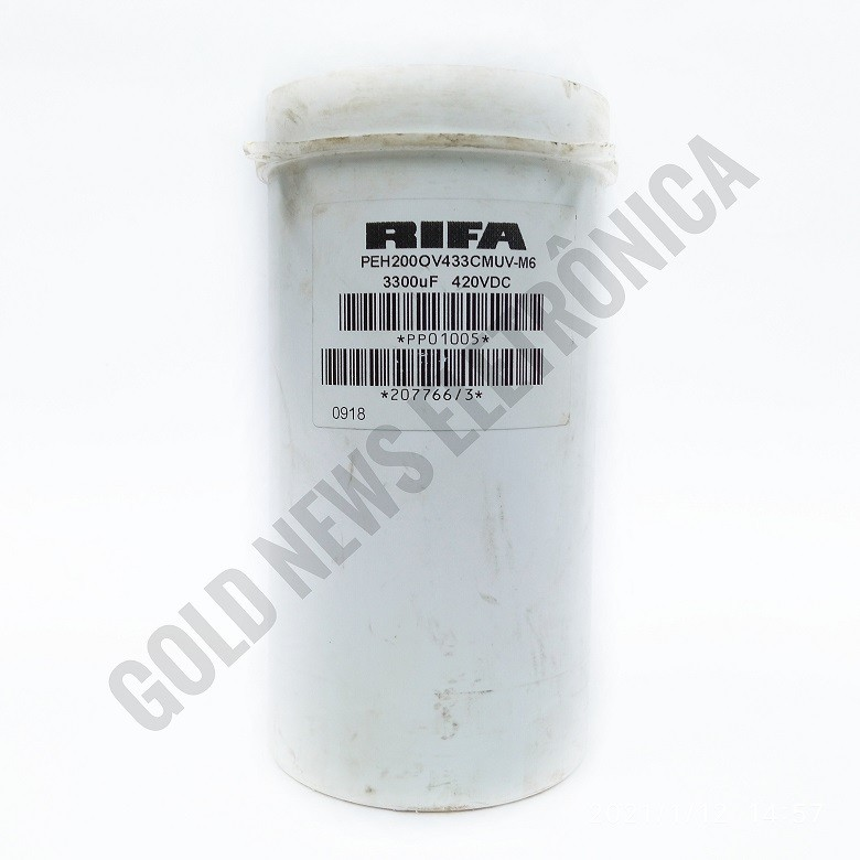 Capacitor Giga Rifa 3300UF X 420V PEH200OV433CMUV-M6