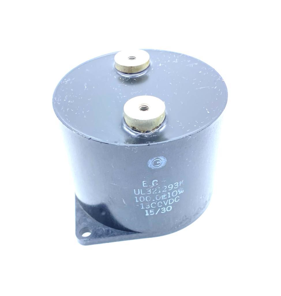 CAPACITOR POLIPROPILENO UNLYTIC 100UF 1300VDC 83X65MM UL321293K ELECTRONIC CONCEPTS