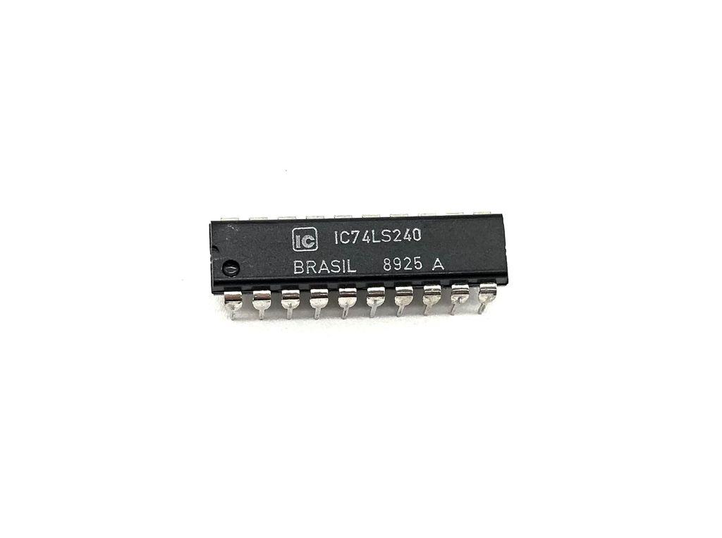 CIRCUITO INTEGRADO DIP 20 PINOS IC74LS240T IC