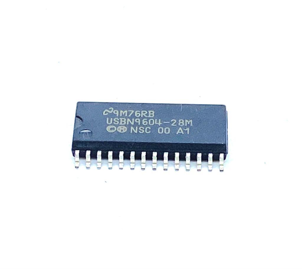 CIRCUITO INTEGRADO SMD 28 PINOS USBN9604-28M NATIONAL