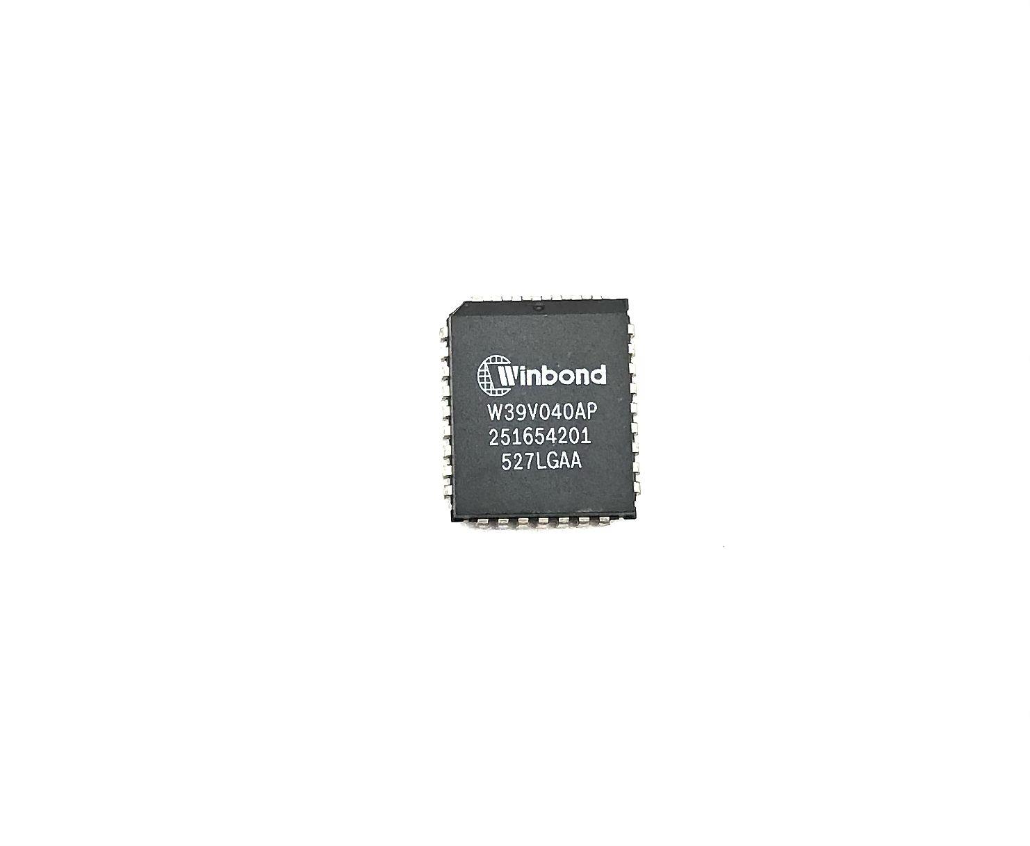 CIRCUITO INTEGRADO SMD PLCC 36 PINOS W39V040AP WINBOND