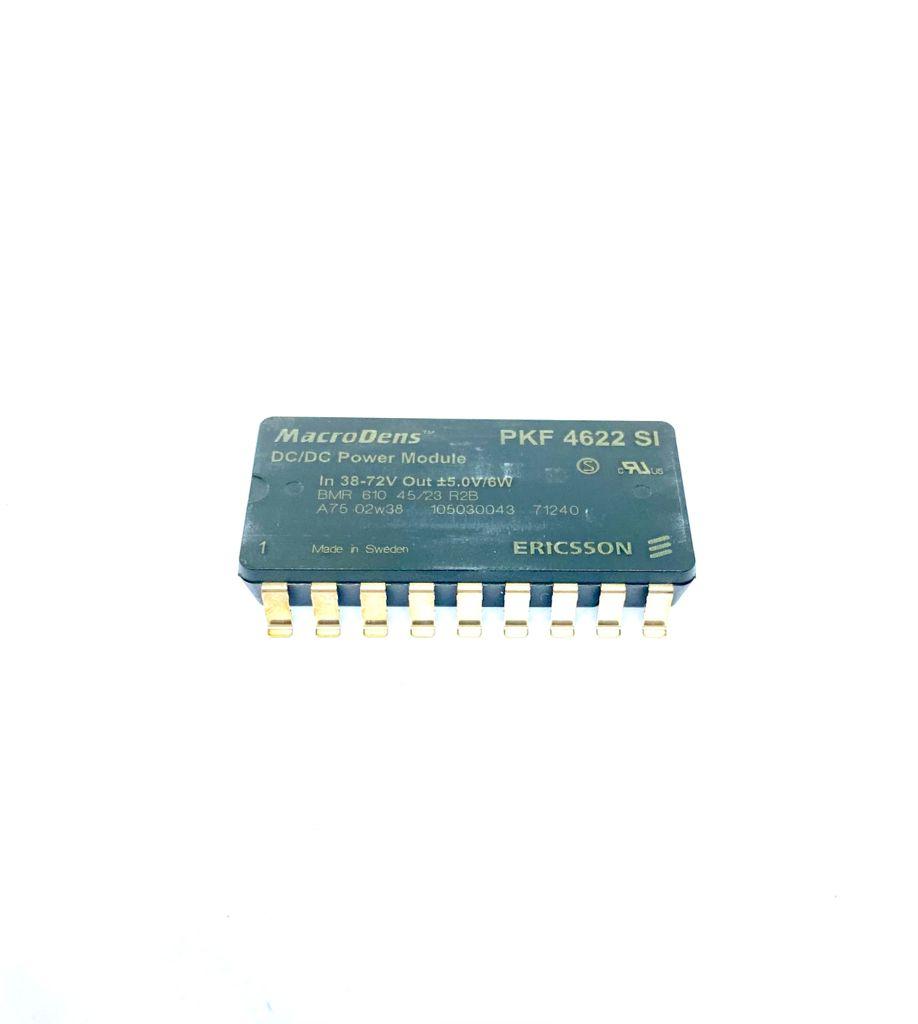 CONVERSOR DC/DC ENTRADA 38-72VDC SAIDA ± 5V 6W PKF4622SI MACRODENS ERICSSON