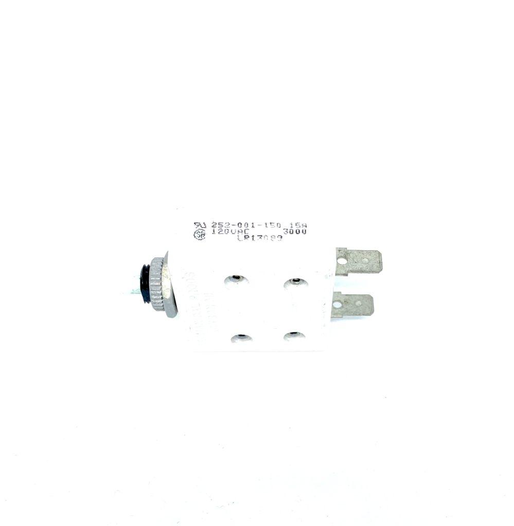 DISJUNTOR TERMICO NF 15A 120VAC 252-001-150-50 MECHANICAL PRODUCTS
