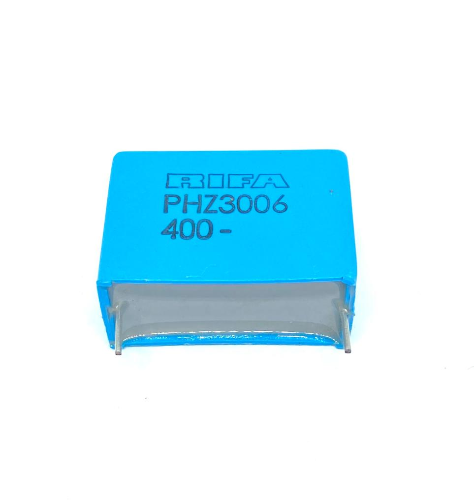 KIT COM 05 PEÇAS - CAPACITOR PP 1UF 400V 31X13X23MM PASSO 27,5MM PHZ3006KG7100J RIFA (1MF 400V)
