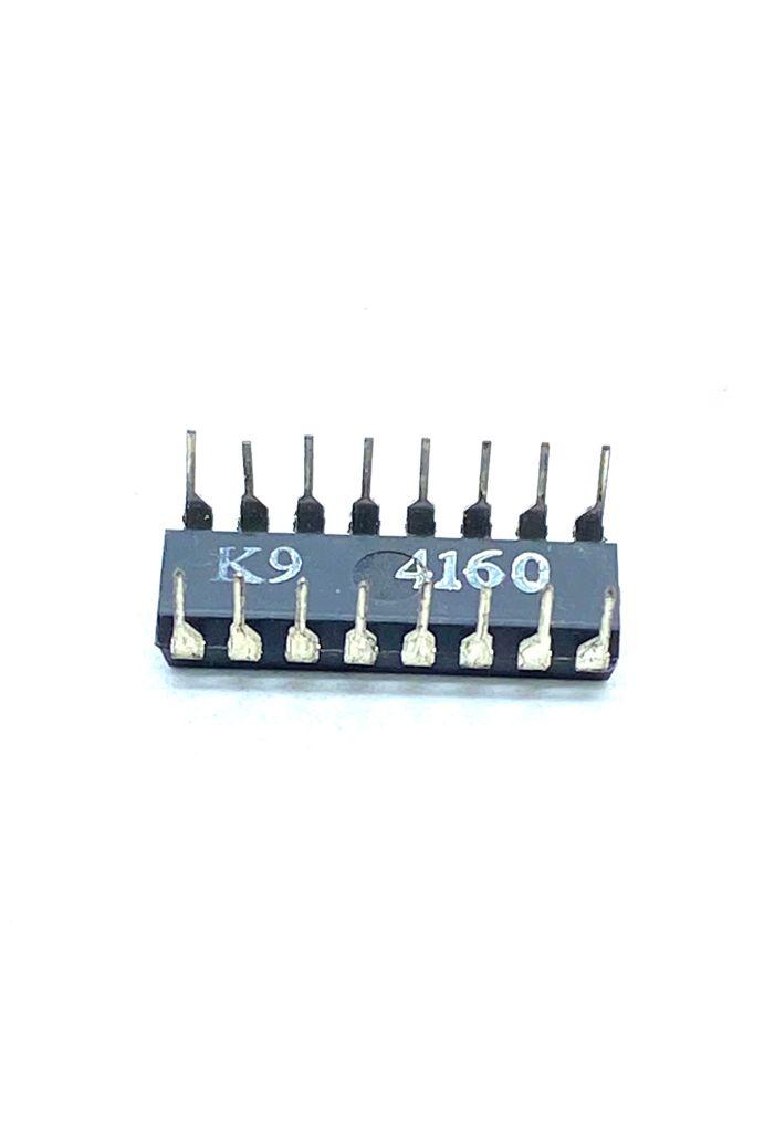 KIT COM 05 PEÇAS - CIRCUITO INTEGRADO DIP 14 PINOS HCF40160BE STMICROELECTRONICS