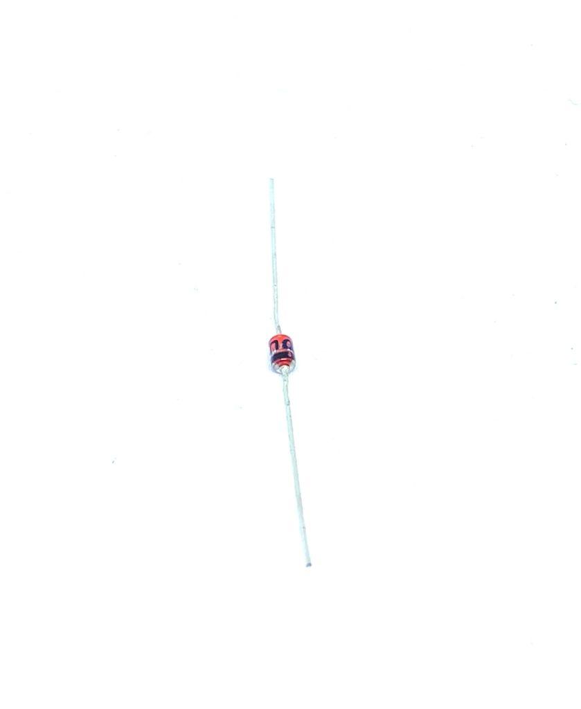 KIT COM 05 PEÇAS - DIODO 1/2W 7V5 MTZJ7.5B TOSHIBA (MTZJ75B)