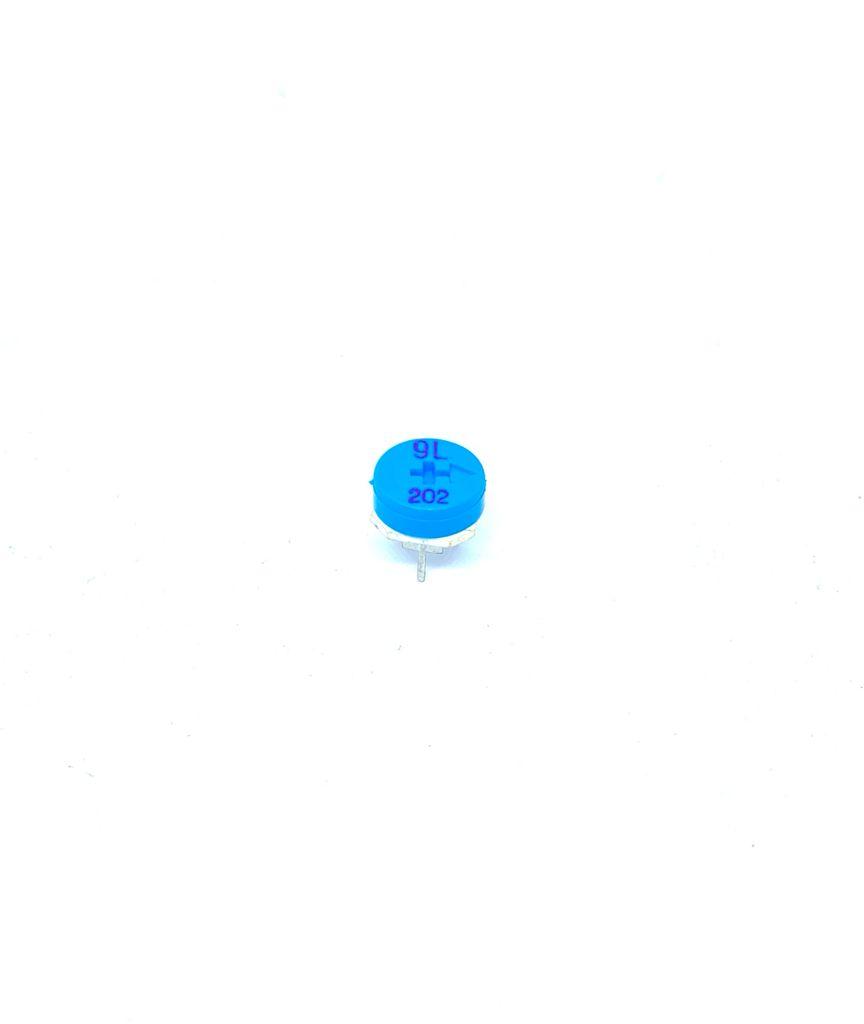 KIT COM 05 PEÇAS - TRIMPOT 2K 10MM HORIZONTAL VR301 EVMH1GA00B23 PANASONIC