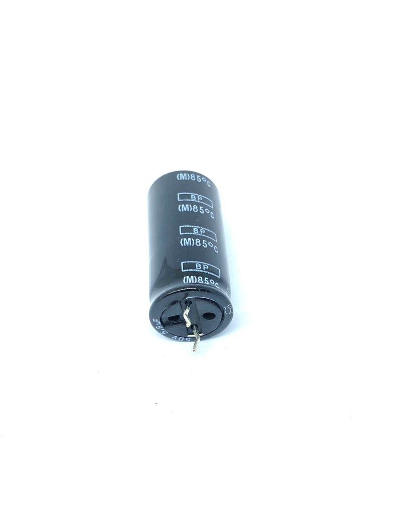 KIT COM 10 PEÇAS - CAPACITOR ELETROLITICO BIPOLAR 5,6UF 50V RADIAL 16X35MM SAMYOUNG