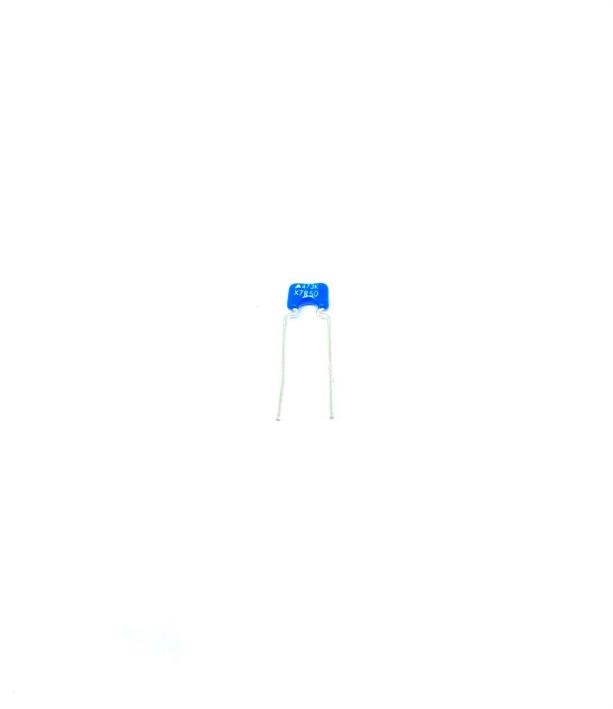 KIT COM 20 PEÇAS - CAPACITOR CERAMICO X7R 47K 50V 10% B37981-F5473-K051 EPCOS (47NF 0,047UF)