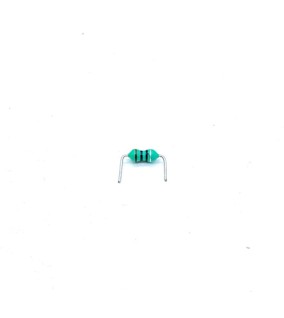 KIT COM 50 PEÇAS - INDUTOR 10UH AXIAL (10µH)