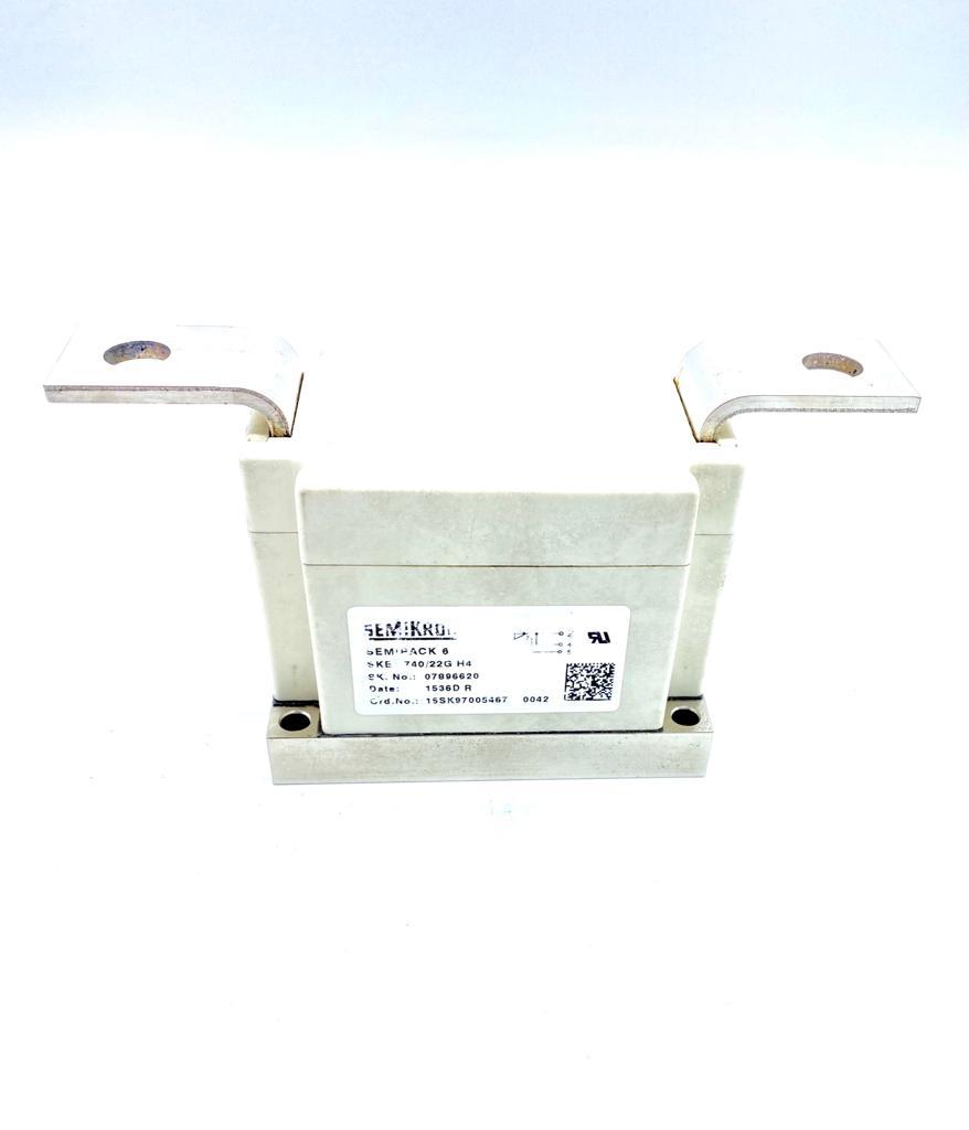 MODULO TIRISTOR SEMIPACK-6 SKET740/22GH4 SEMIKRON (USADO)
